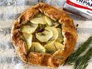 Bake: Leek and potato galette with a pistachio crust Baker: Fiona Wishart