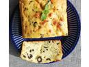 Bake: Halloumi and olive Cypriot cake Baker: Maryam Rivnat