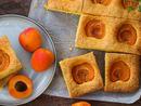 Bake: Orange and apricot traybake Baker: Shade