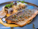 Roasted Mediterranean Sea Bass at Ce La ViThis sky-high restaurant boasts a superbview, but the roasted sea bass will draw your eyes from the skyline and onto your plate. The yuzo koshu brown butter lip-smackingly delicious too.Address Downtown, Downtown Dubai (056 515 4001).