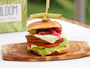 The Vegan Don't Bite Burger At Bloom Vegan KitchenThis vegan dream is an absolute beaut at just over Dhs30. It comes in its own sturdy, self-collapsing-upon-opening recyclable box, and is crammed full of goodness. A proper veggie patty that's stuffed with pretty much every vegetable under the sun is topped with guacamole, jalapeño, red onion pickles, vegan mozzarella and loaded into a vegan brioche bun.From Dhs32.40. Delivery only. www.bloomvegankitchen.com.