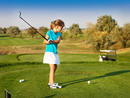 Kids can learn to play golf in Dubai