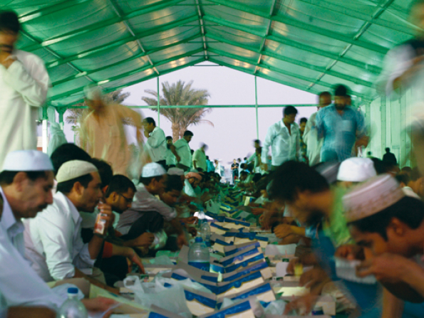 UAE's biggest Iftar