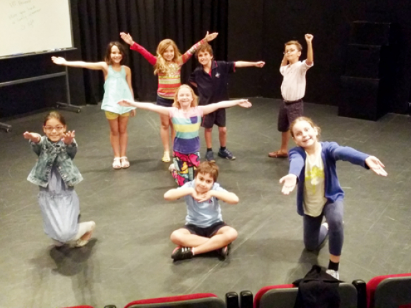 Drama classes at The Courtyard Theatre