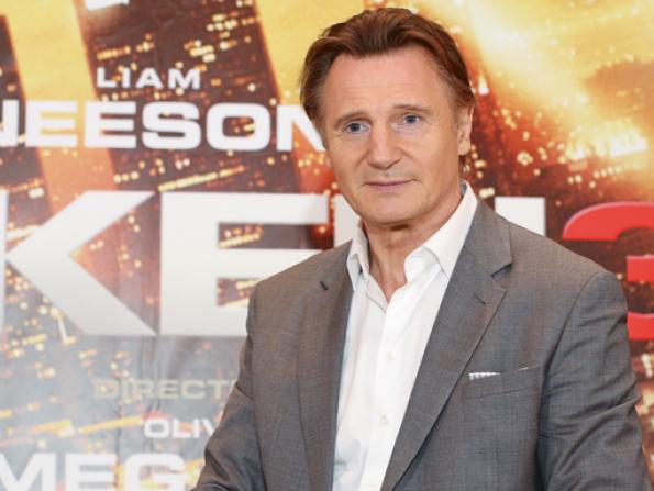 Liam Neeson in Dubai interview
