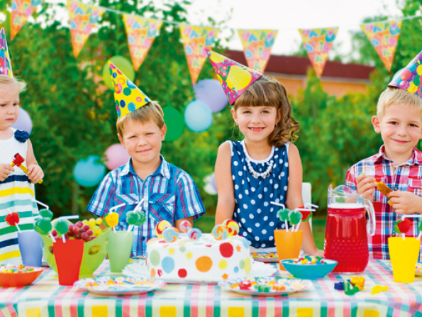Outdoor parties for kids in Dubai