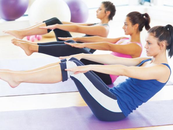 Pilates for Dubai mums