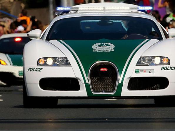 Dubai Police's supercar sets world record