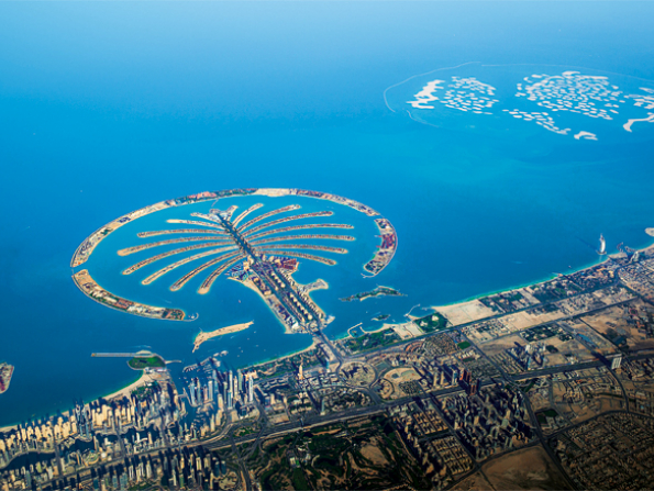 What's happening on the Palm Jumeirah?