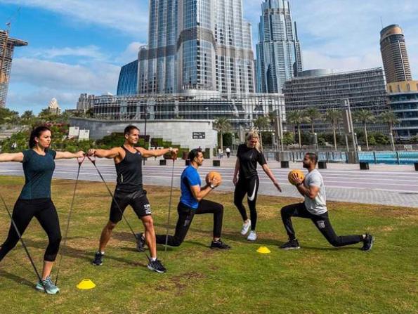 High intensity outdoor boot camp starts at Burj Park