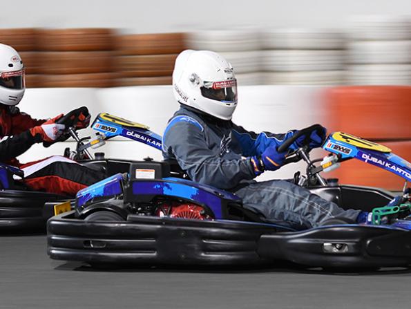 Dubai Kartdrome is hosting a karting challenge