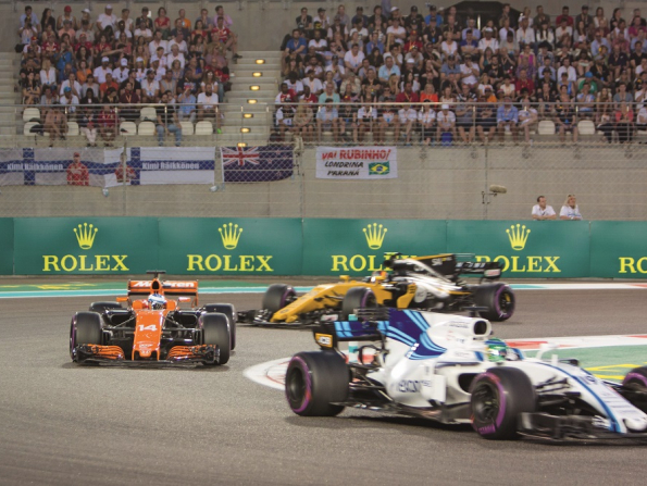 Abu Dhabi F1, plus how to win Dhs2,000 cash in Dubai