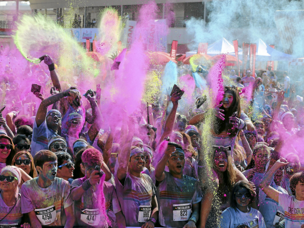 The Color Run returns to Dubai with its first Hero Tour
