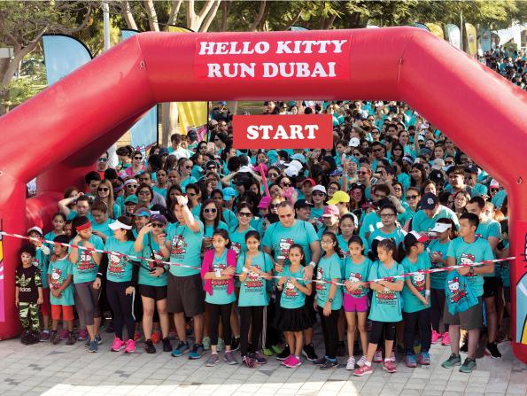 Hello Kitty Run coming to Dubai
