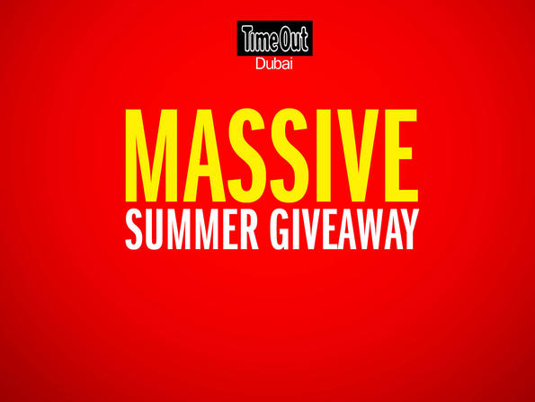 Win big with Time Out Dubai's huge month of competitions