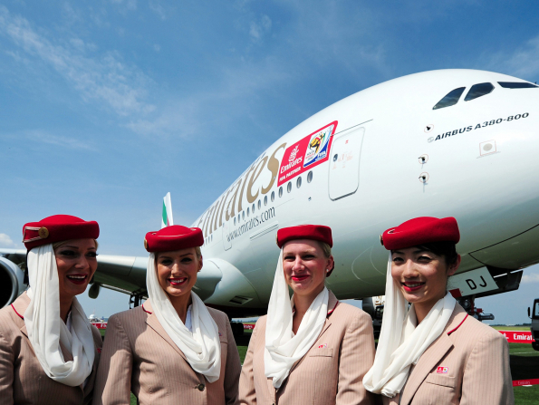 Emirates named the best airline in the world