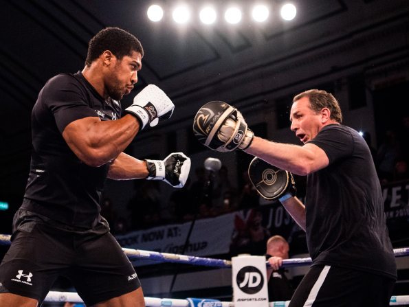 Anthony Joshua vs Wilder fight may happen in Dubai