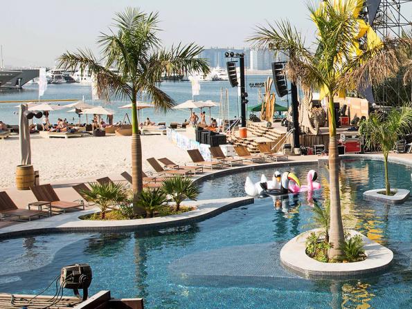 Best beach bar in Dubai 2018
