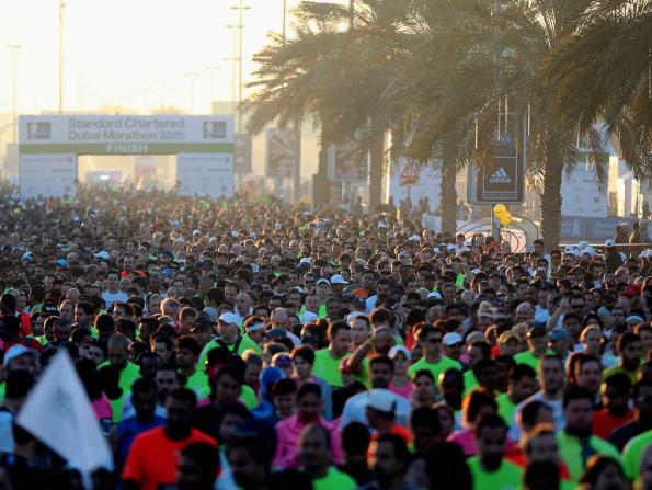 Dubai Marathon 2019 road closures expected this weekend