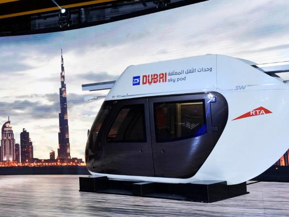 Dubai reveals futuristic Sky Pods