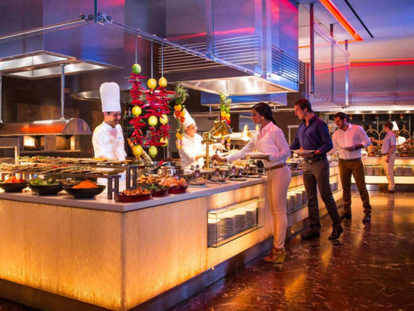 Brunch at Saffron for just Dhs100 this weekend