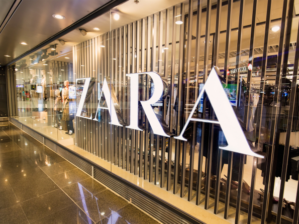 Zara launches online shopping in the UAE
