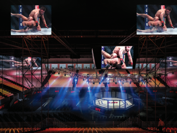 First look: The new Abu Dhabi arena especially for UFC 242