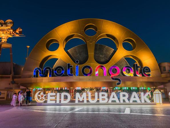 Motiongate Dubai celebrates Eid al-Adha with unlimited rides