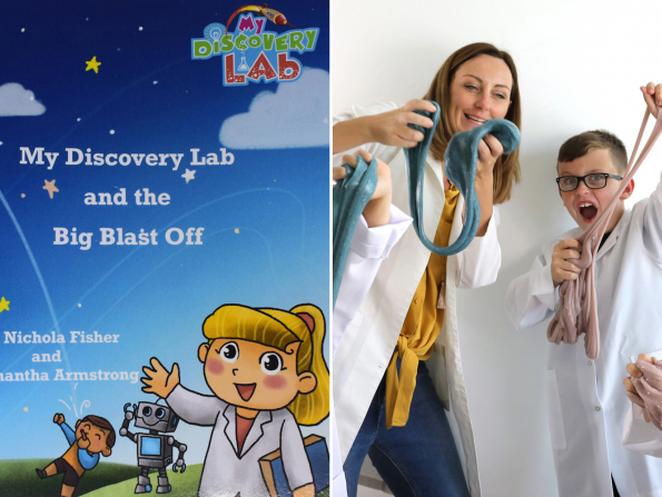 My Discovery Lab Dubai launches fun science book for kids