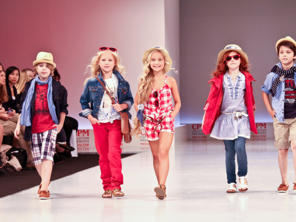 A modelling workshop for little ones who love the spotlight
