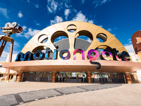 UAE residents can go to Motiongate Dubai for Dhs49 this weekend