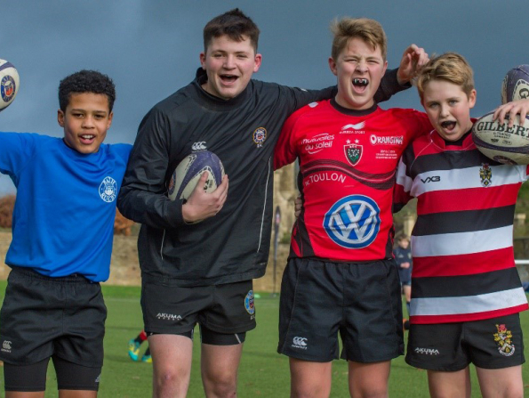 Sign up for a winter camp with Bath Rugby