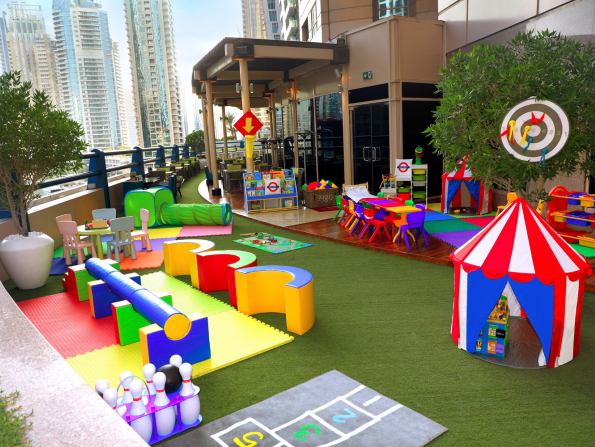 Dubai's The Croft has launched a brand-new kids' play area