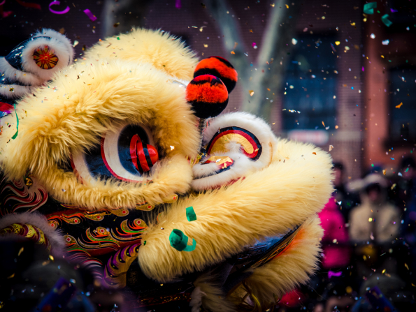 Huge Lion Dance competition for Chinese New Year coming to Dubai