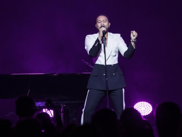 In pictures: John Legend at Dubai's Coca-Cola Arena