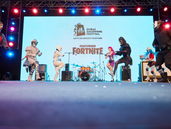 In pictures: Fortnite takes over DSF's Market Outside The Box