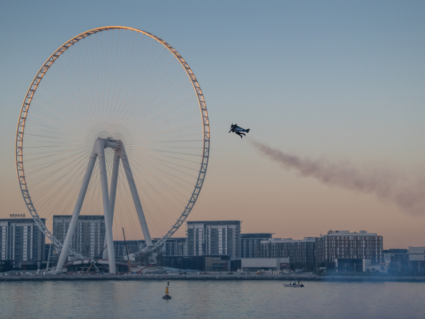 Expo 2020 Dubai and Jetman achieve world first for human flight