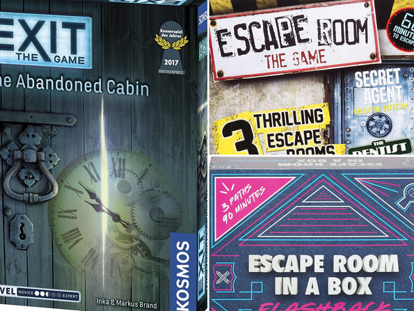 Three escape room board games to buy in the UAE