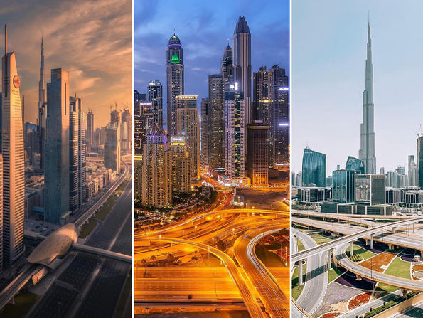 In pictures: Dubai residents stay at home