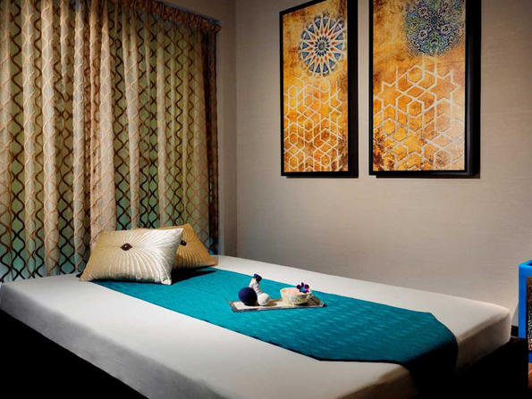 Get a massage and afternoon tea for Dhs300 at Saray Spa