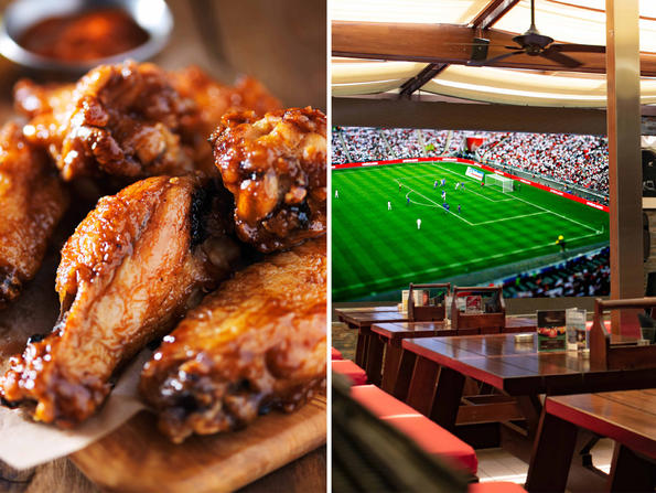 Dubai's Offside sports bar launches wings and pizza brunch