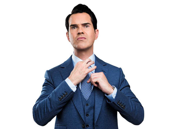 Here's what to expect if you're going to see Jimmy Carr this week