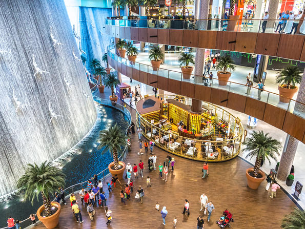 Dubai Mall ceiling repaired - check out five exclusive stores at the mall