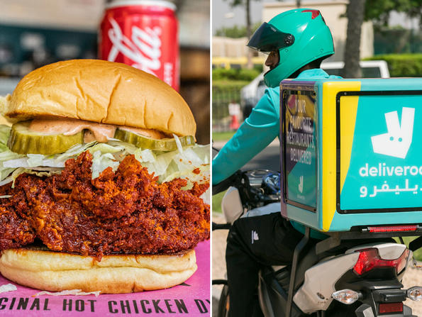 Order Dubai's Pickl to treat Deliveroo riders a free meal