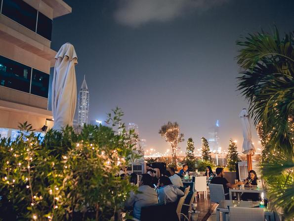Dubai's La Vue bar reopens with Dhs19 drink happy hour