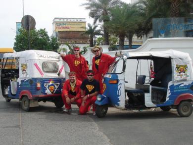 Dubai rickshaw race