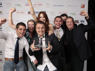 2009 Best in Dubai winners