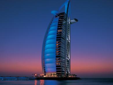 Burj Al Arab and Al Quoz