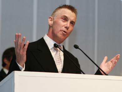 Gary Rhodes is dreaming