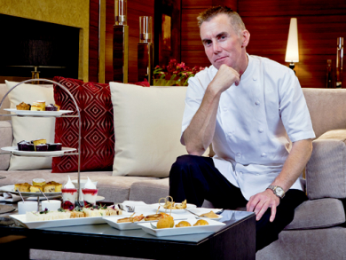 Gary Rhodes talks dining Dubai